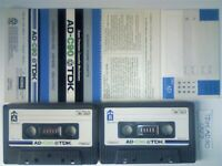 JL RARE TDK AD 90 ACOUSTIC DYNAMIC CASSETTE TAPES 1977-1978 JOB LOT OR SOLO SALES AD90