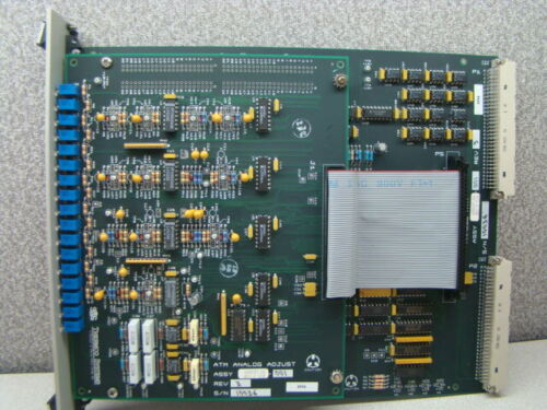 SVG Thermco 604097-06 Analog CVD Wet / Dry Oxide Process PCB Assembly