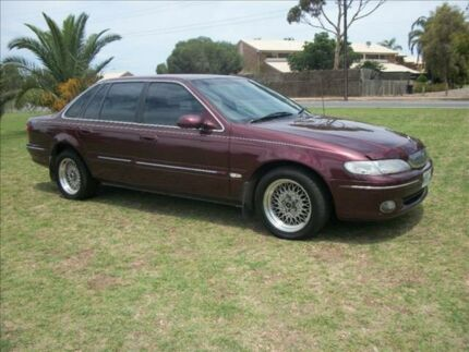 1998 Ford Fairlane NL Ghia Concorde 4 Speed Automatic Sedan Alberton Port Adelaide Area Preview