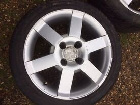 Ford alloys and tyres 195/45/16