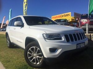 2014 Jeep Grand Cherokee WK MY15 Laredo 4x2 White 8 Speed Sports Automatic Wagon Wangara Wanneroo Area Preview
