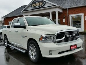 2017 Ram 1500 Limited 4x4, Loaded, RAMBOX, Leather Heated/Vented