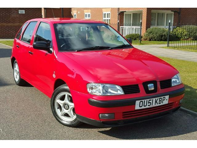 2001 seat ibiza 1 4 chill 5dr f s h 2 owners clean low. Black Bedroom Furniture Sets. Home Design Ideas