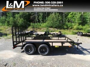 "NEW 2019 BIG TEX 77"" X 12' TANDEM UTILITY TRAILER"