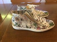 Rieker size 5 women's floral trainers for sale.