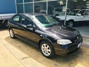 2003 Holden Astra TS SXI Black 4 Speed Automatic Hatchback Hobart CBD Hobart City Preview