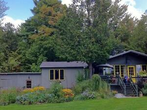 Private country home w/ views, close to skiing / nature in Brome