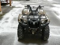 2008 YAMAHA 700 GRIZZLY WITH POWER STEERING