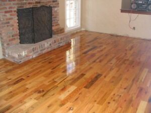 Red Oak and Maple Hardwood