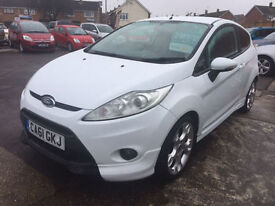 2012 Ford Fiesta 1.6 Zetec S - Stunning Polar White - Low Mileage ****WOW****