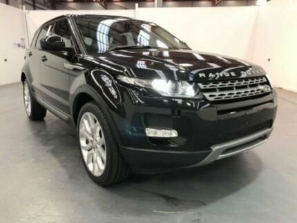 2013 Land Rover Range Rover Evoque L538 MY13.5 TD4 COMMANDSHIFT PURE TECH Black Steptronic Wagon