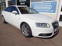 Audi A6 Saloon 2.0TDI ( 170PS ) 2009 Le Mans Full S/H Low miles 72k Nav Leather
