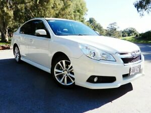 2013 Subaru Liberty B5 MY14 2.5i Lineartronic AWD White 6 Speed Constant Variable Sedan Glenelg East Holdfast Bay Preview
