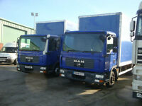 2008 MAN TGL 7.150 4x2 Box Body