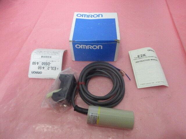 Omron E2K-C25ME1 Proximity Switch, 10 to 40 VDC, 450196