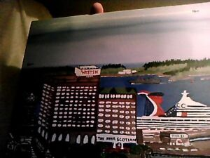 One Of A Kind Painting Of Halifax