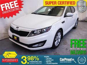 2012 Kia Optima EX Plus *Warranty* $124.97 Bi-Weekly OAC