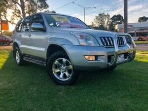 2006 Toyota Landcruiser Prado KDJ120R GXL Silver 5 Speed Automatic Wagon Ferntree Gully Knox Area Preview