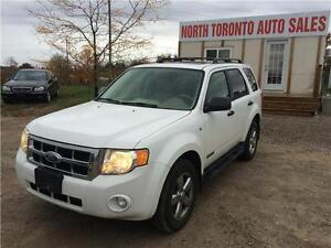 2008 FORD ESCAPE XLT - LEATHER - HEATED SEATS - 4WD - AUTOMATIC