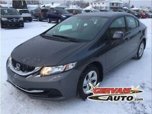 Honda Civic LX A/C Bluetooth 2013