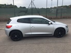 VW SCRIOCCO 2.0 TSI GT 200BHP FULL BLACK LEATHER £6450 ONO
