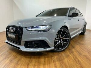 2017 Audi RS6 4G MY18 Avant Performance Nada Grey 8 Speed Automatic Wagon Kingsgrove Canterbury Area Preview
