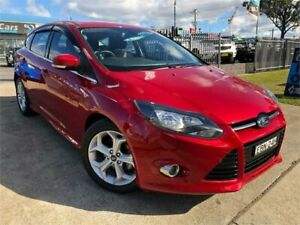 2014 Ford Focus LW MkII Sport Red Sports Automatic Dual Clutch Hatchback Mulgrave Hawkesbury Area Preview