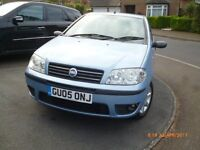 Fiat Punto 2005. Lovely little car, ideal first car. Full serviec history, elec sunroof & windows..