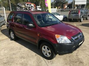 2002 Honda CR-V RD Wagon 5dr Auto 4sp, 4WD 2.4i [MY03] Burgundy Automatic Wagon Bass Hill Bankstown Area Preview