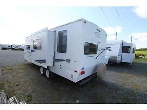 2008 Trail Cruiser 26RK Leight weight with a slide