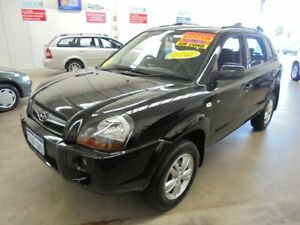 2009 Hyundai Tucson MY09 SX Black 4 Speed Sports Automatic Wagon Wangara Wanneroo Area Preview