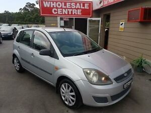 2006 Ford Fiesta WQ LX Silver 5 Speed Manual Hatchback Edgeworth Lake Macquarie Area Preview