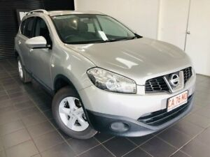 2013 Nissan Dualis J107 Series 4 MY13 +2 Hatch X-tronic 2WD ST Silver 6 Speed Constant Variable Berrimah Darwin City Preview