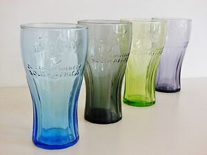 McDonalds Coca-Cola 2010 FIFA Contour Glass Set (Set of 4)