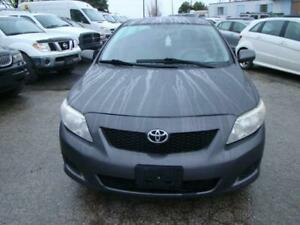 2009 TOYOTA COROLLA - CERTIFY * CLEAN