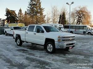 2015 CHEVROLET SILVERADO 2500HD CREW CAB SHORT BOX 4X4