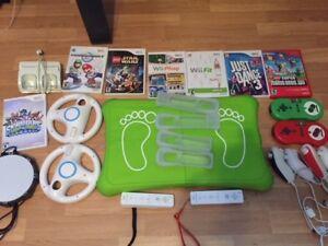 Console Wii et jeux