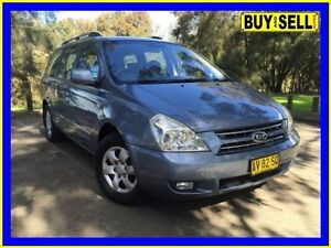 2008 Kia Grand Carnival VQ (EX) Blue 5 Speed Automatic Wagon Lansvale Liverpool Area Preview