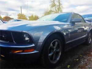 2006 FORD MUSTANG CONVERTIBLE*UPGRADED STEREO BLUEOOTH