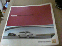 Renault Scenic and Grand Scenic Sales Brochure March 2011 in good condition
