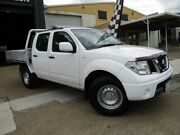 2012 Nissan Navara D40 S7 MY12 RX 4x2 White 6 Speed Manual Utility Moorooka Brisbane South West Preview