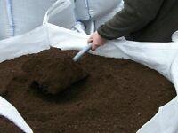 Top soil delivered in 1 ton bulk bags
