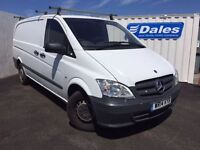 Mercedes-benz Vito 113CDI Van (white) 2014