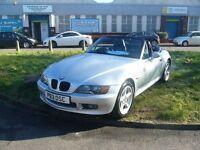 BMW Z3 1.9 2dr (silver) 1997