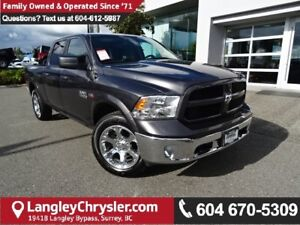 2016 RAM 1500 SLT *ACCIDENT FREE*ONE OWNER*LOCAL BC CAR*