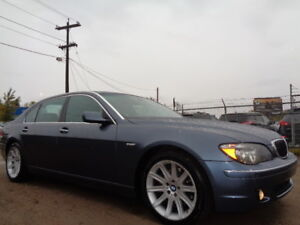 2006 BMW 750Li-NAVI-4.8L V8-DVD-HDTV-LEATHER-SUNROOF-AMAZING