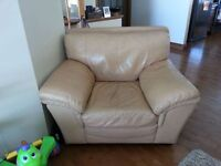 Leather chair from B&M negotiable