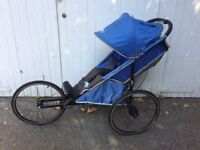 Running/jogging buggy - Baby Jogger Performance 25th Anniversary Edition