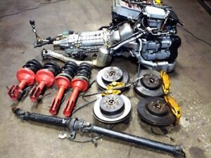 JDM SUBARU WRX STI VERSION 8 EJ20T MOTOR MT 6 SPEED TRANSMISSION