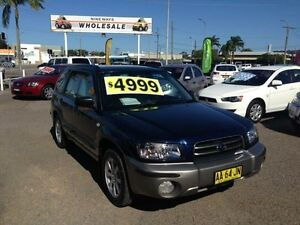 2004 Subaru Forester MY05 XS Blue 4 Speed Automatic Wagon Broadmeadow Newcastle Area Preview